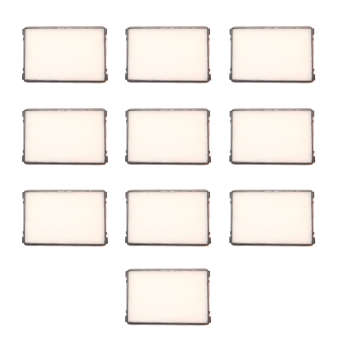 فیلتر کابین خودرو مدل LF405 پلاس مناسب برای پژو و سمند بسته 10 عددی