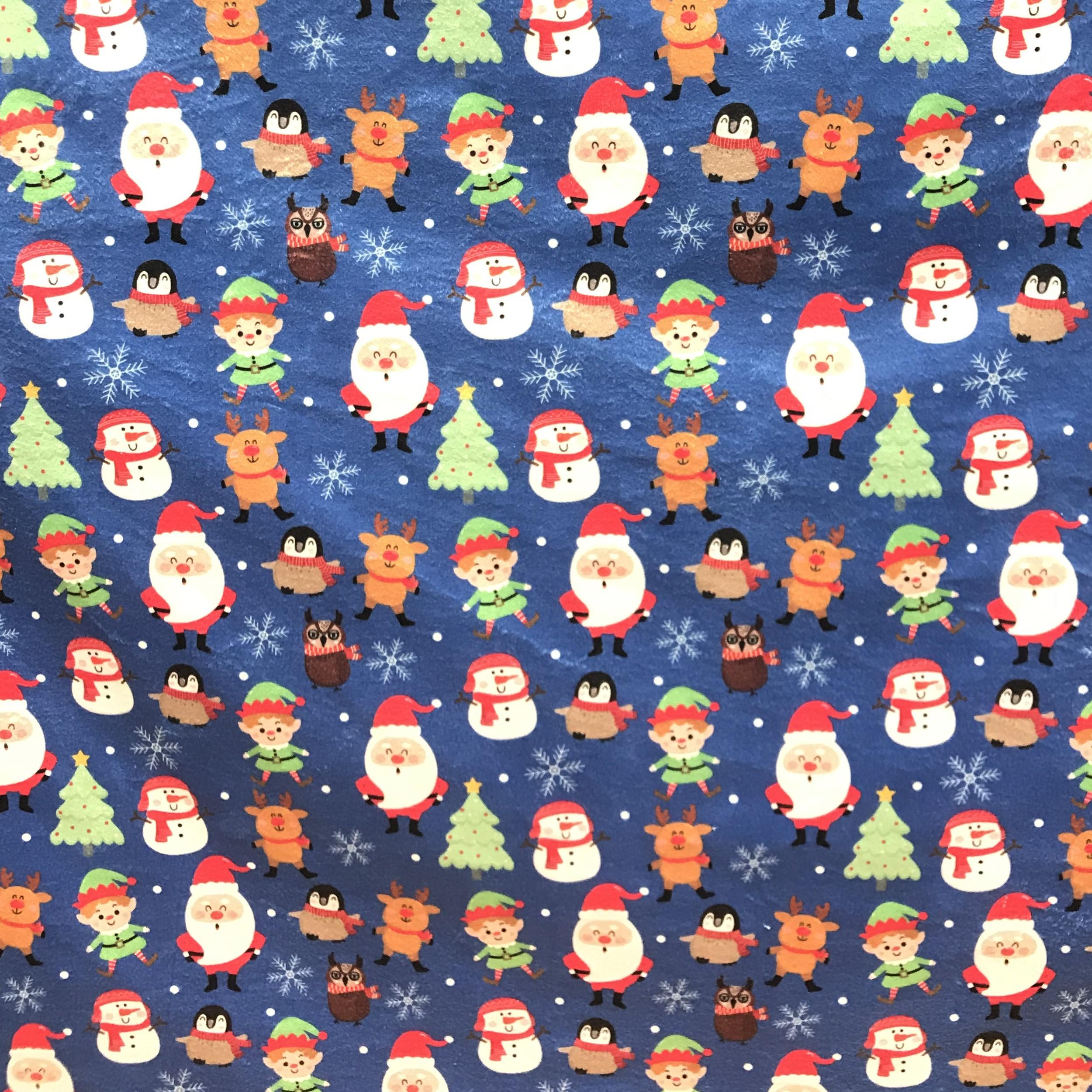 پارچه لباس مدل کریسمس کد 2-1131