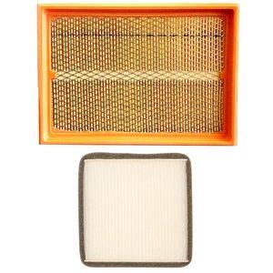 فیلتر هوا خودرو سرعت فیلتر مدل C162 مناسب برای گروه پراید به همراه فیلتر کابین