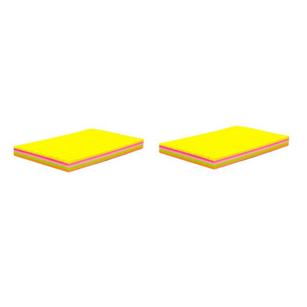 کاغذ یادداشت چسب دار فنس کد FA9213  دو بسته 100 برگی