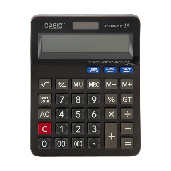ماشین حساب کاسیک مدل GY-140C Plus
