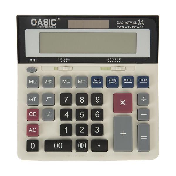 ماشین حساب کاسیک مدل DJ-2140TV-XL