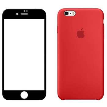 کاور مدل nxe مناسب برای گوشی موبایل اپل iphone 6plus/6splus به همراه محافظ صفحه نمایش