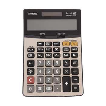 تصویر ماشین حساب DJ-260D  کاسیو Casio DJ-260D Calculator
