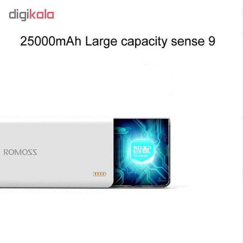 شارژر همراه مدل Sense 9 ظرفیت 25000 میلی آمپر ساعت                     غیر اصل