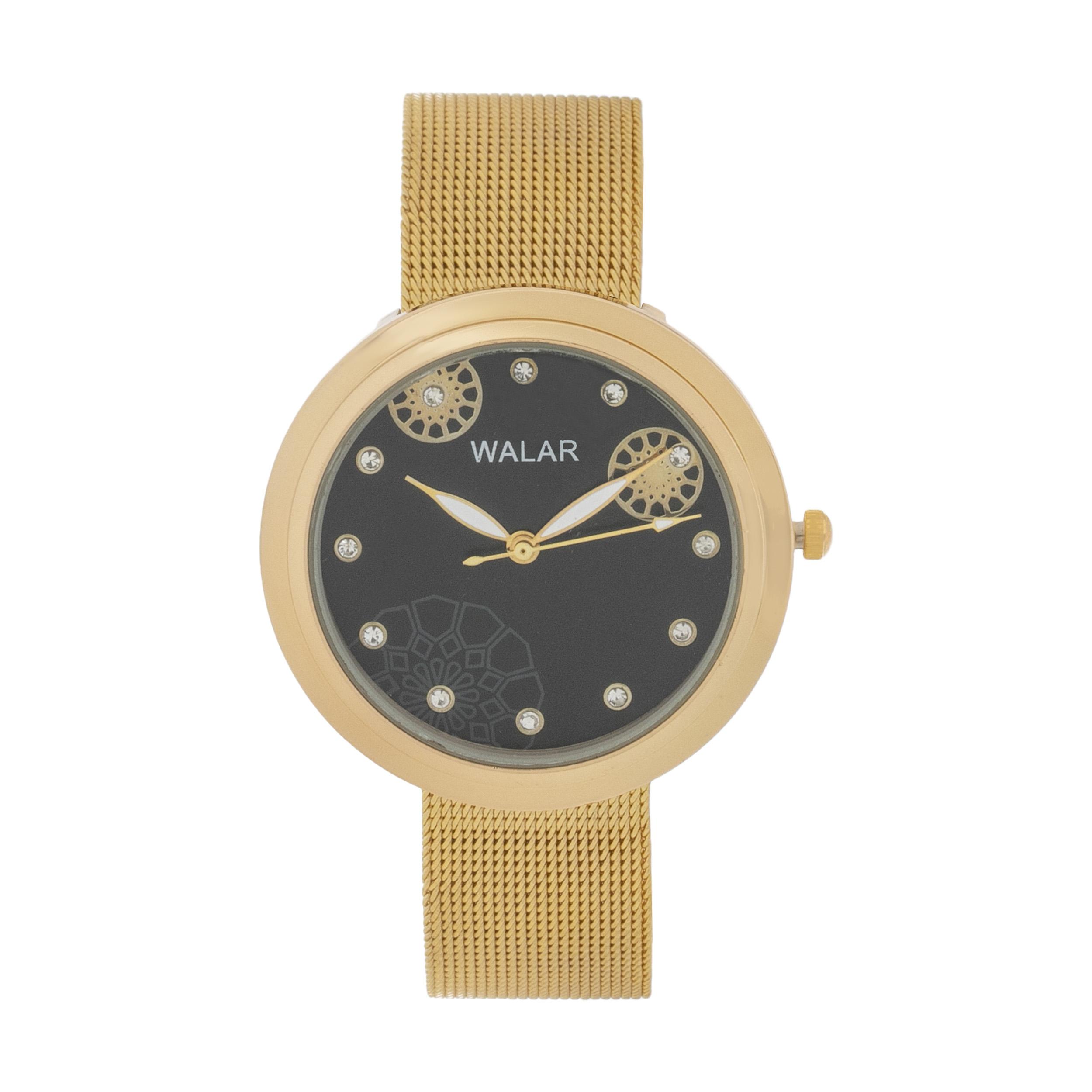 ساعت مچی عقربه ای زنانه والار مدل w2482fd               ارزان