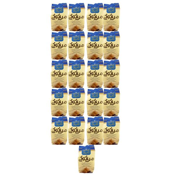 مینی کوکی با مغزی نارگیل نادری مقدار 105 گرم بسته 21 عددی