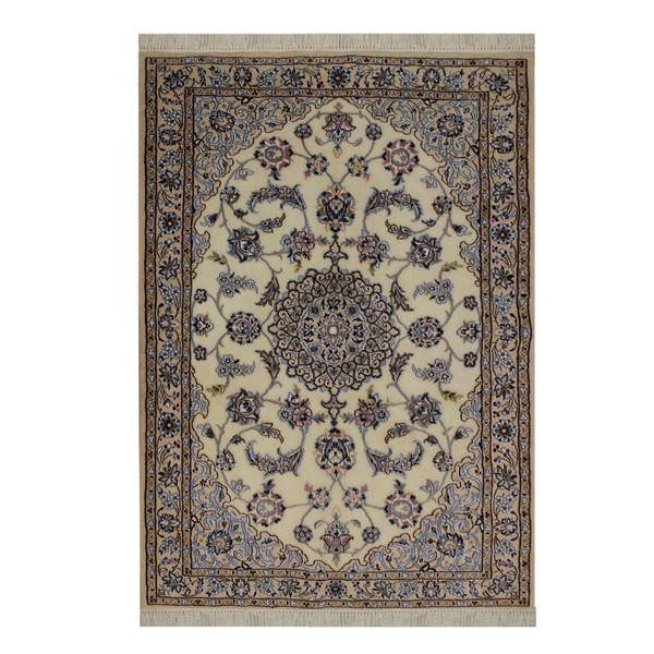 فرش دستبافت دو متری طرح نایین کد 1105794