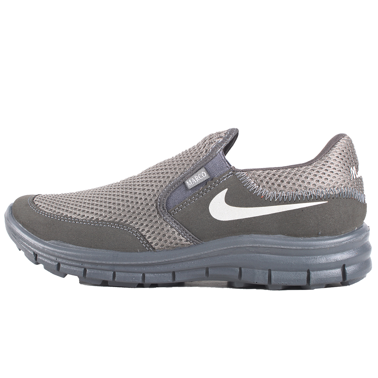 کفش مخصوص پیاده روی اندیشه مدل مارکو کد 1403 رنگ طوسی