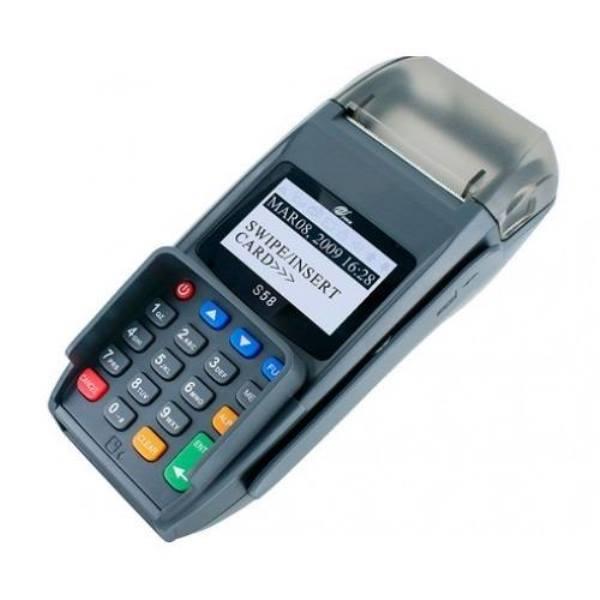 تصویر دستگاه کارتخوان فروشگاهی پکس مدل s58 (s58 Terminal POS)