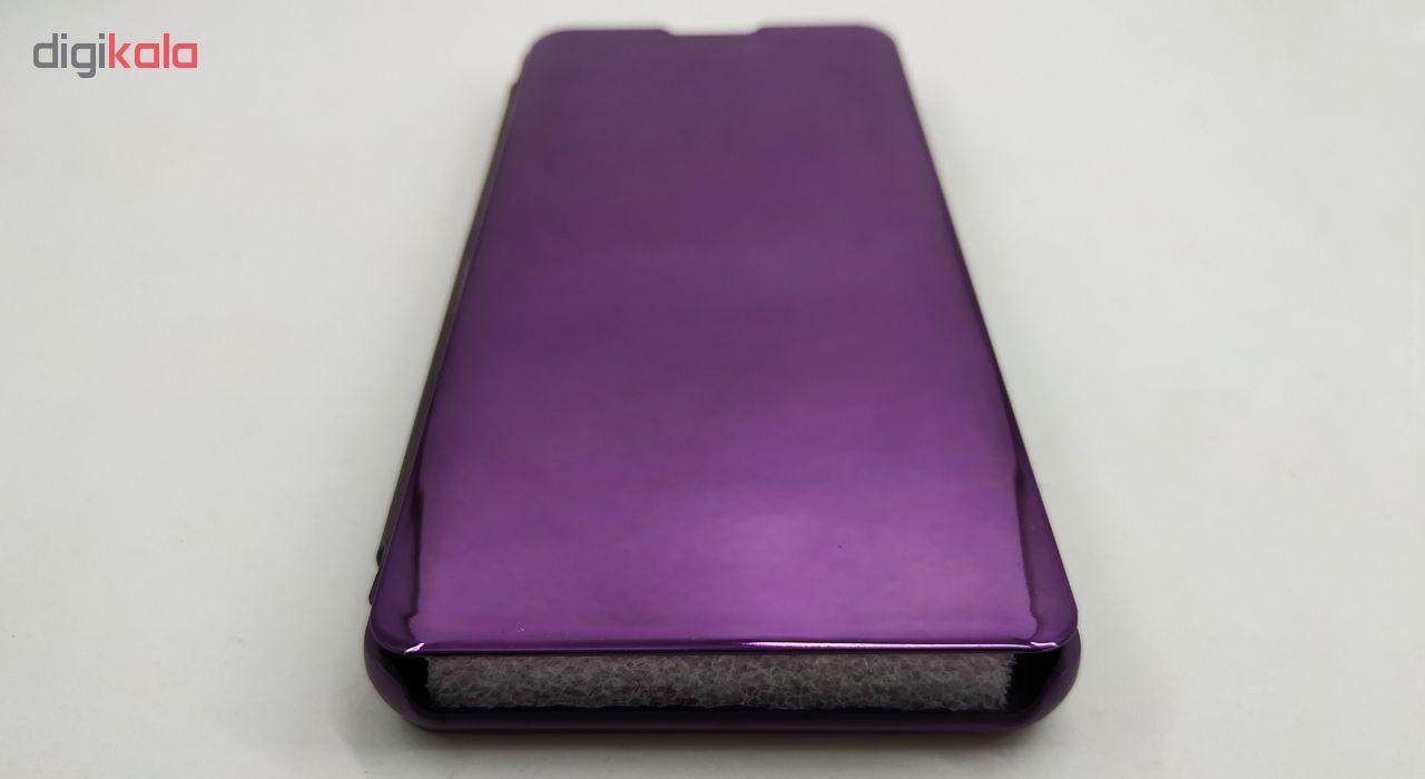 خرید اینترنتی با تخفیف ویژه کیف کلاسوری مدل Clear View مناسب برای گوشی موبایل سامسونگ Galaxy S10 Pus