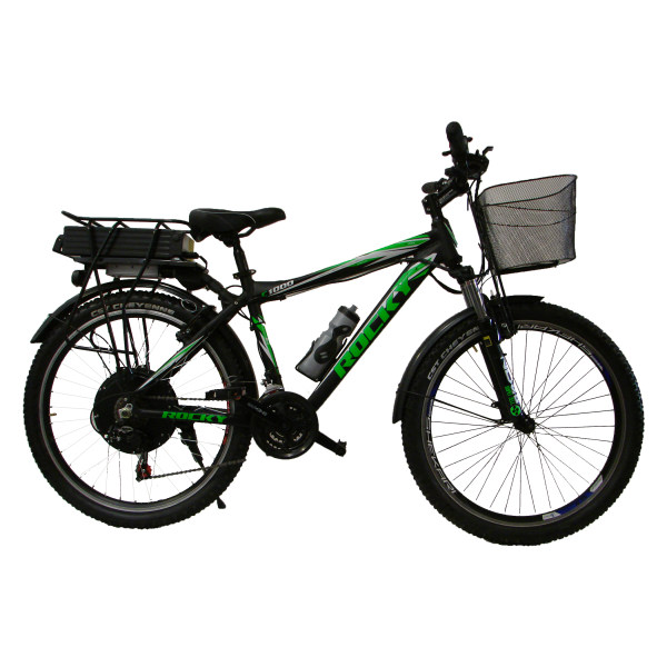 دوچرخه برقی مدل راکی سایز 26