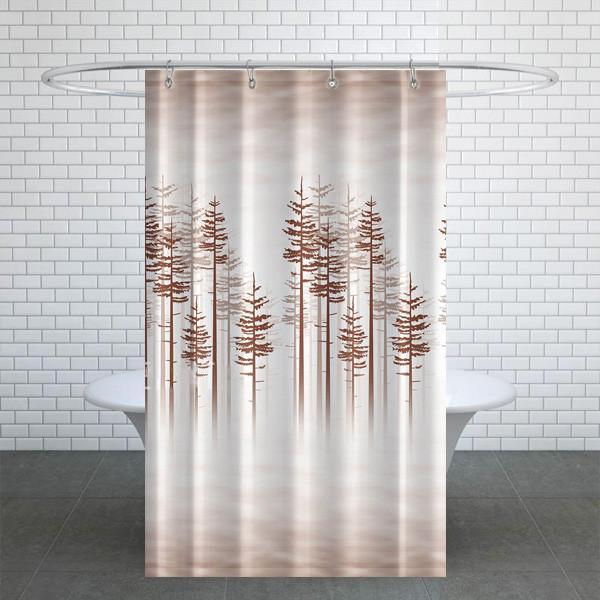 پرده حمام دلفین کد TOR-3390 سایز 200×180 سانتی متر