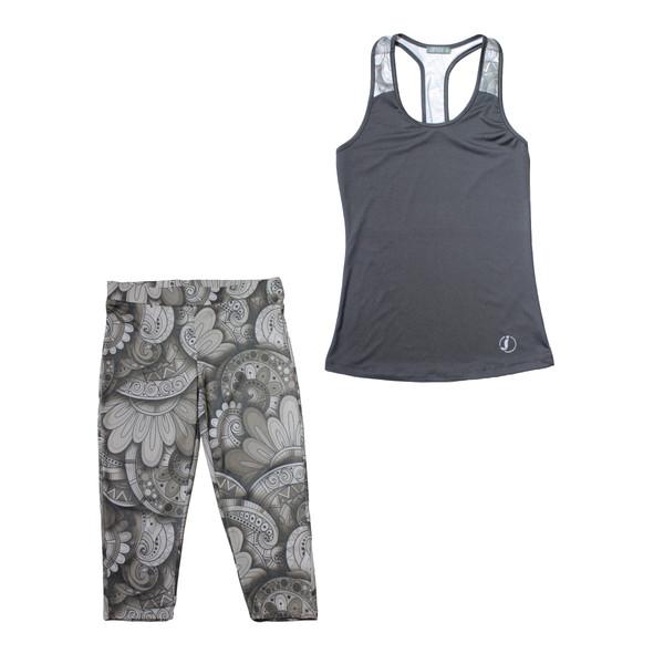 ست تاپ و شلوارک ورزشی زنانه کد jog