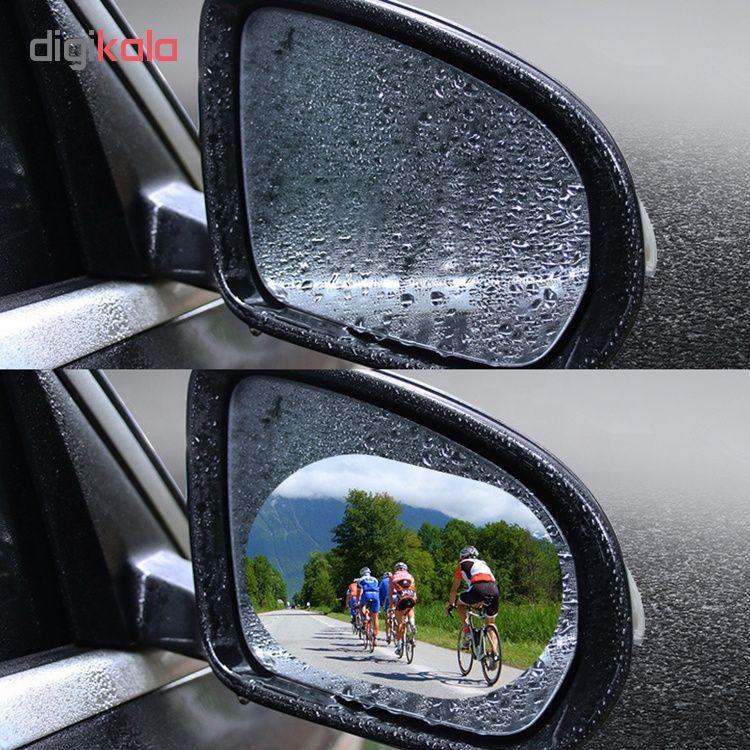 برچسب و محافظ ضد آب شیشه و  آینه خودرو مدل HD01 مجموعه 4عددی main 1 3