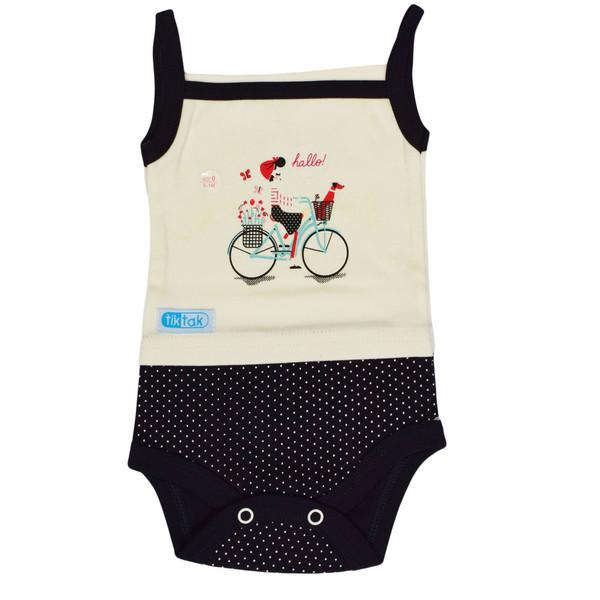 بادی نوزادی تیک تاک طرح دوچرخه کد 01