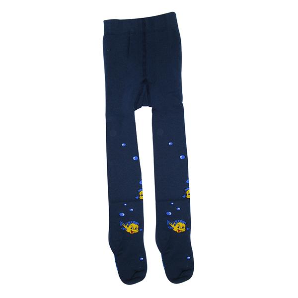 جوراب شلواری دخترانه طرح ماهی کد 7C-38-236