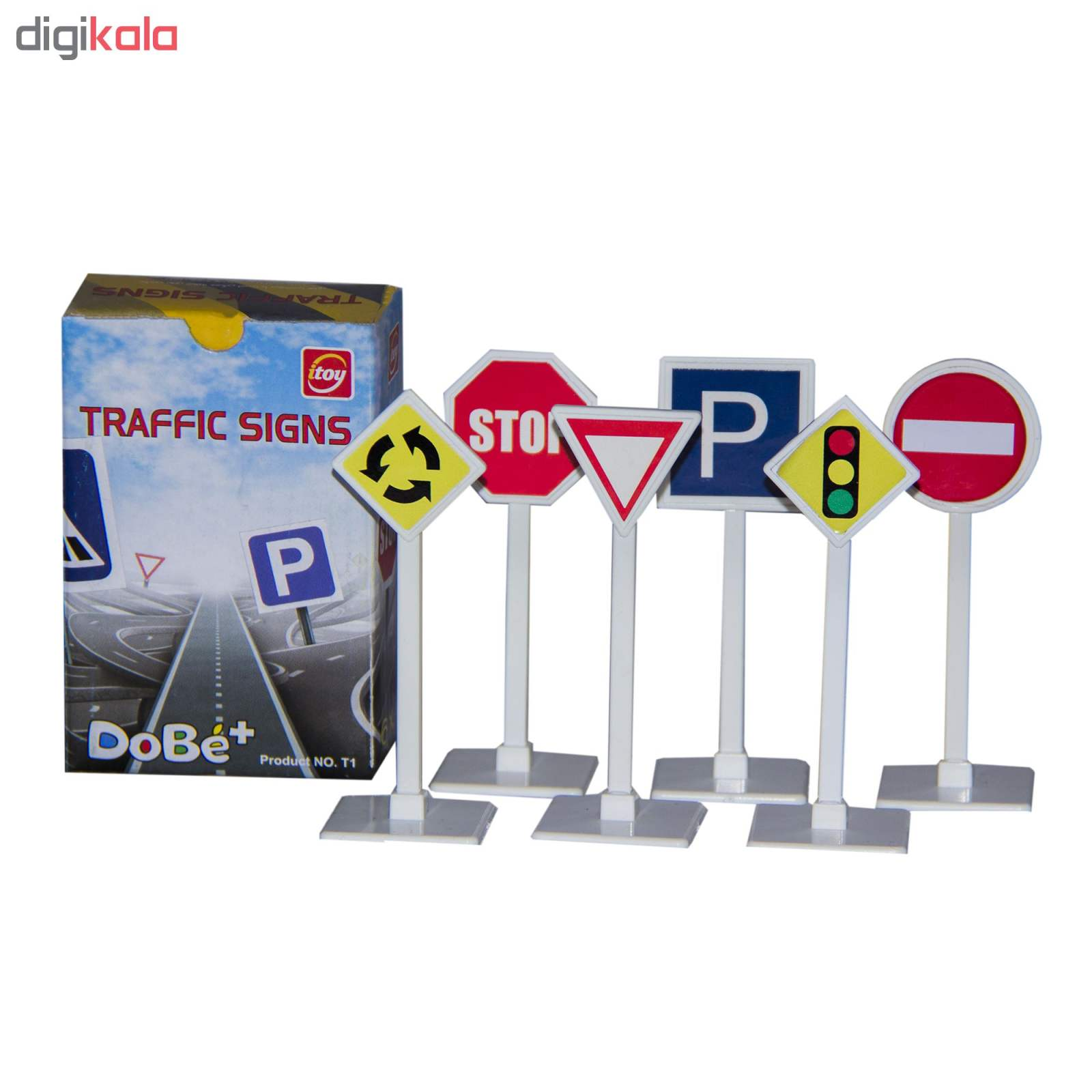 بازی آموزشی آی توی مدل علائم راهنمایی و رانندگی کد T1