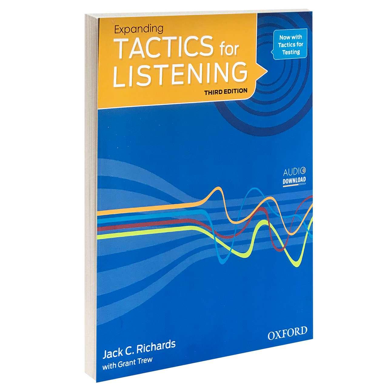خرید                      کتاب TACTICS for LISTENING Expanding اثر Jack C. Richards and Grant Trew انتشارات Oxford