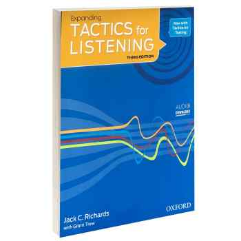 کتاب TACTICS for LISTENING Expanding اثر Jack C. Richards and Grant Trew انتشارات Oxford
