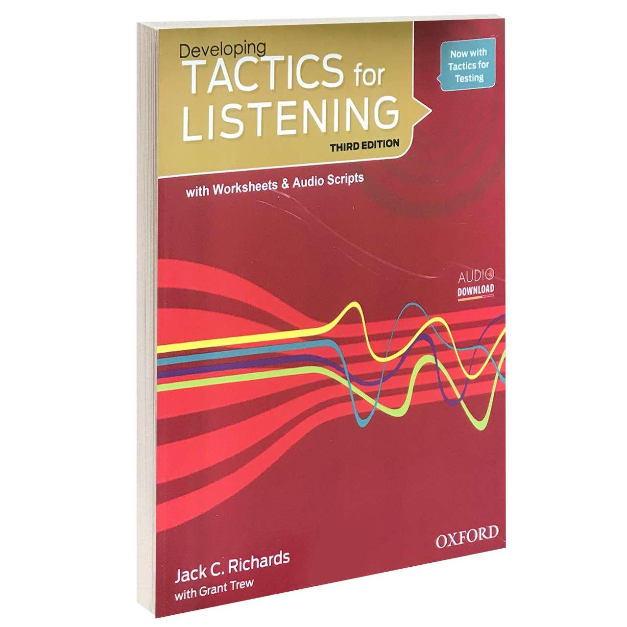 خرید                      کتاب TACTICS for LISTENING Developing اثر Jack C. Richards and Grant Trew انتشارات Oxford