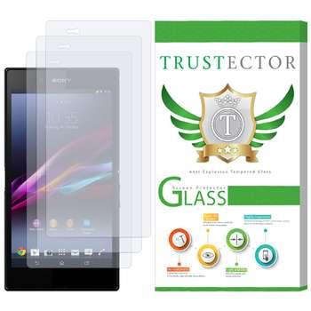 محافظ صفحه نمایش تراستکتور مدل GLS مناسب برای گوشی موبایل سونی Xperia Z Ultra بسته 3 عددی