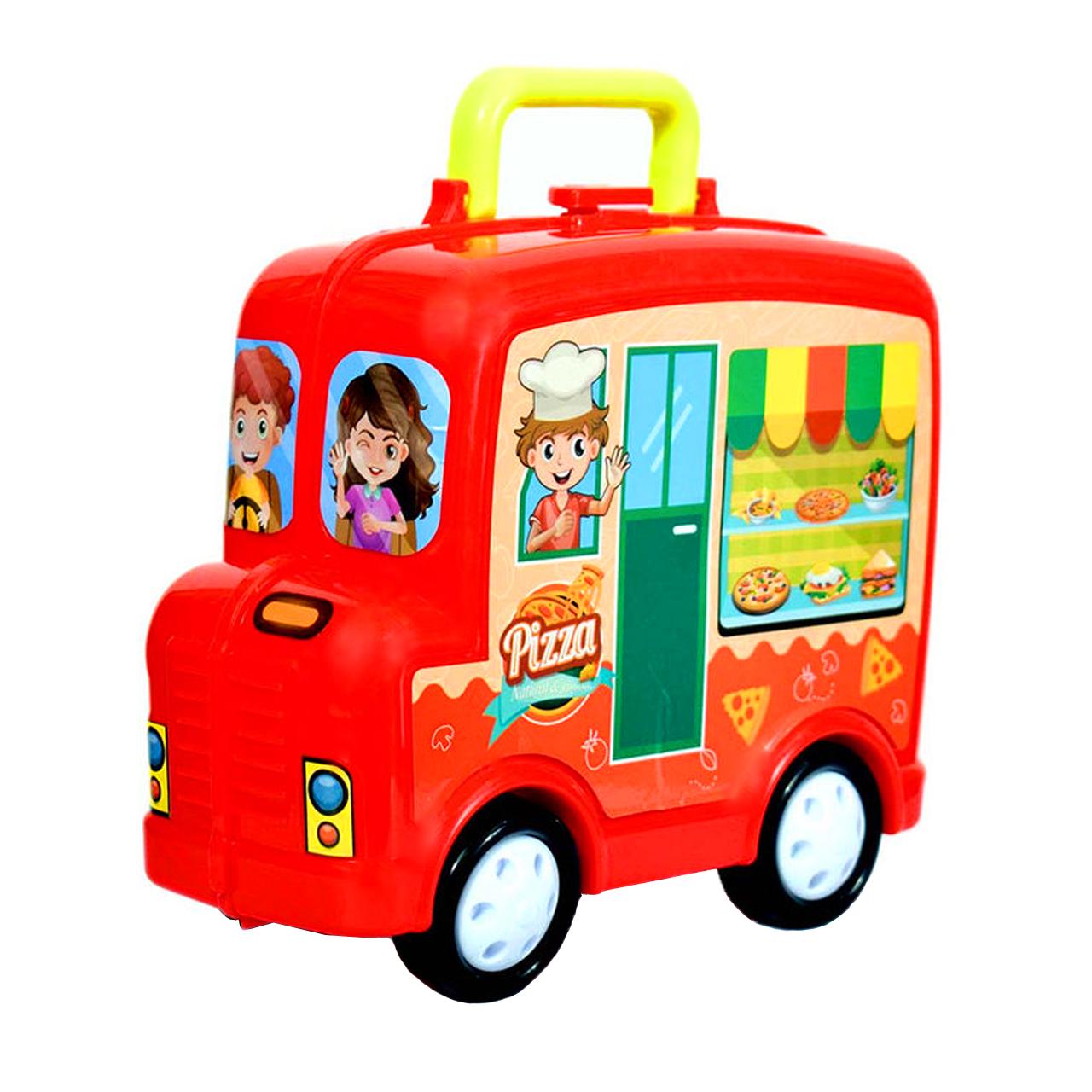 اسباب بازی آشپزخانه طرح پیتزا فروشی کد 48229