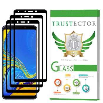 محافظ صفحه نمایش تراستکتور مدل GSS مناسب برای گوشی موبایل سامسونگ Galaxy A9 2018 بسته 3 عددی