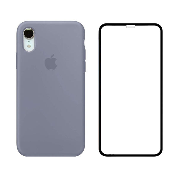 کاور مدل SLCN_02 مناسب برای گوشی موبایل اپل iPhone XR به همراه محافظ صفحه نمایش