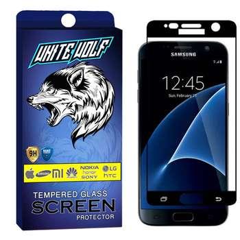 محافظ صفحه نمایش وایت ولف مدل WGF مناسب برای گوشی موبایل سامسونگ Galaxy S7