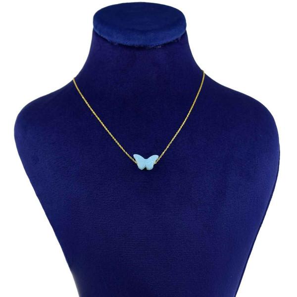 گردنبند طلا 18 عیار زنانه کانیار گالری کد 1436