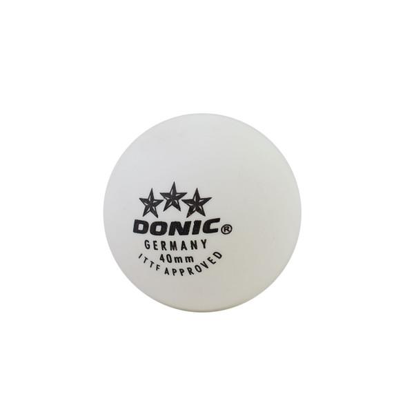 توپ پینگ پنگ دونیک مدل 3 ستاره بسته 3 عددی سایز 4
