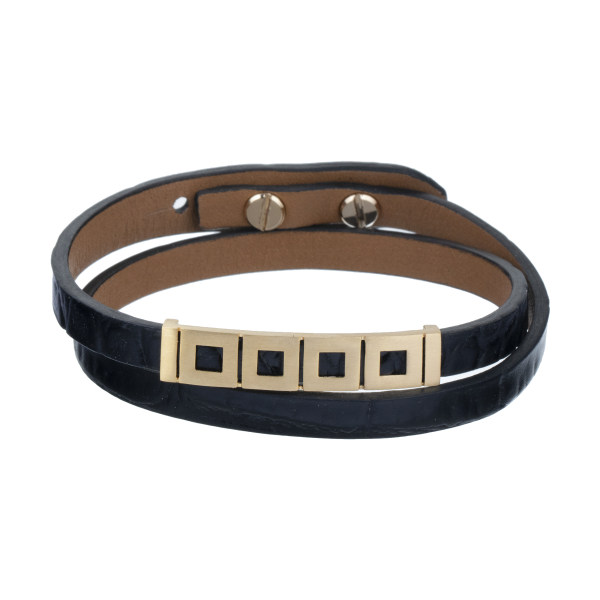 دستبند طلا 18 عیار زنانه تاج درسا مدل TAJ131-BL