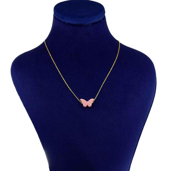 گردنبند طلا 18 عیار زنانه کانیار گالری کد 14391