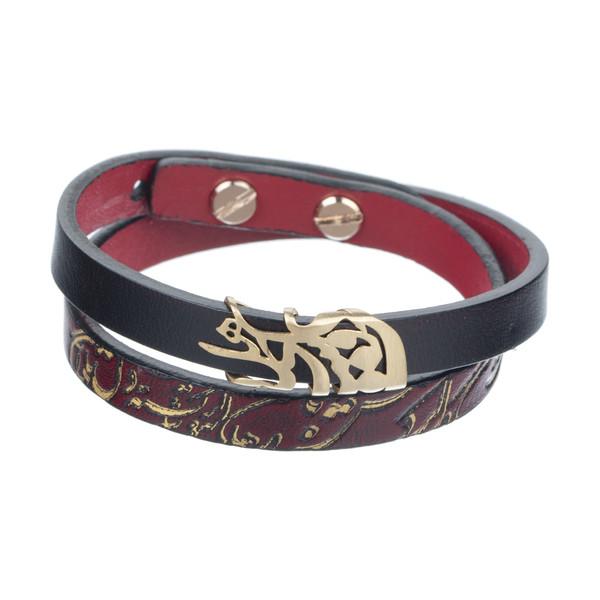 دستبند طلا 18 عیار زنانه تاج درسا مدل TAJ410-DRE