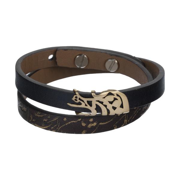 دستبند طلا 18 عیار زنانه درسا مدل 410-BR