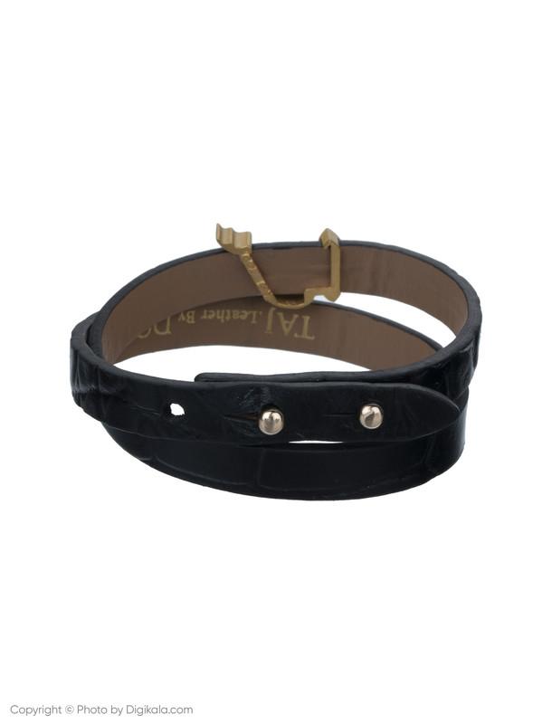 دستبند طلا 18 عیار زنانه تاج درسا مدل TAJ239-BL