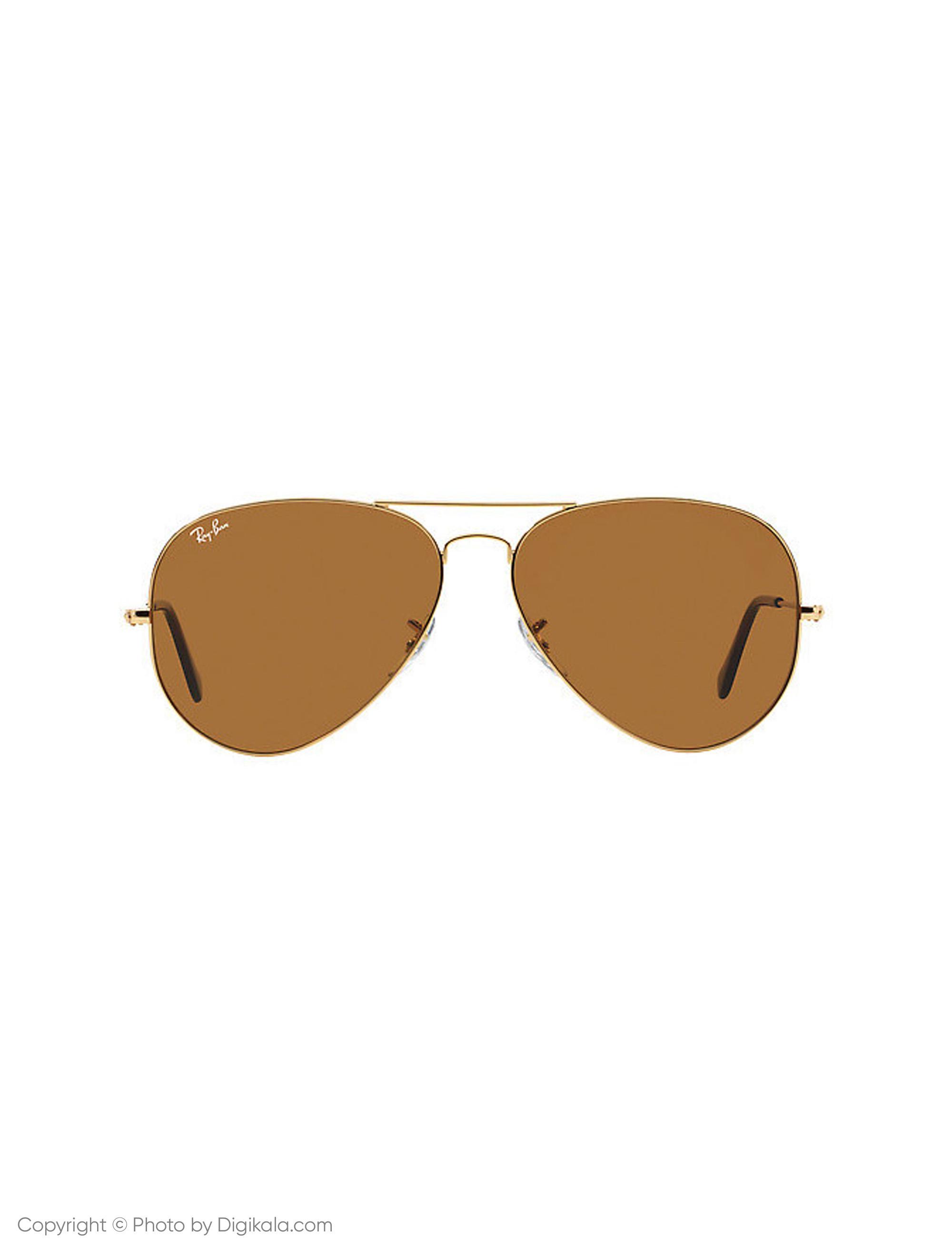 عینک آفتابی ری بن مدل 3025-001/33-58