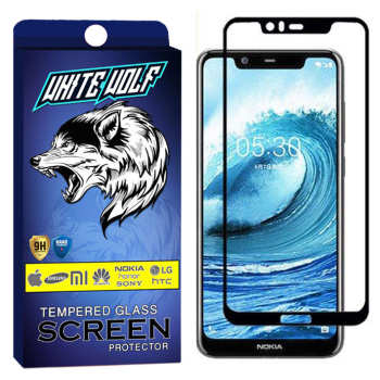 محافظ صفحه نمایش وایت ولف مدل WGF مناسب برای گوشی موبایل نوکیا 5.1 Plus