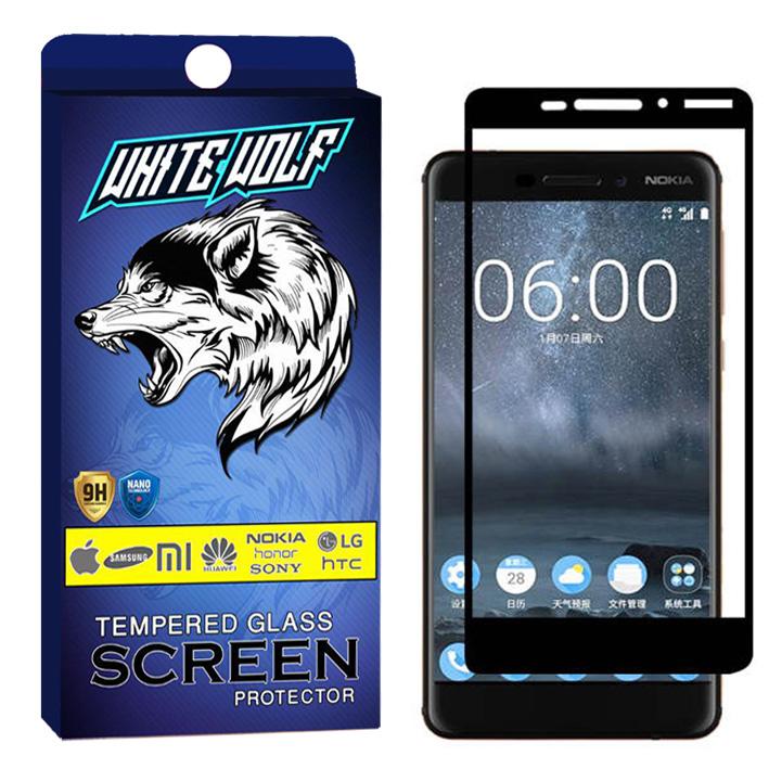 محافظ صفحه نمایش وایت ولف مدل WGF مناسب برای گوشی موبایل نوکیا Nokia 6.1 / 6 2018