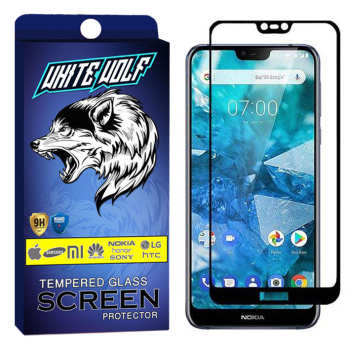 محافظ صفحه نمایش وایت ولف مدل WGF مناسب برای گوشی موبایل نوکیا 7.1 Plus