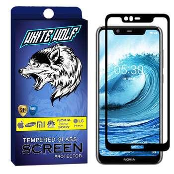 محافظ صفحه نمایش وایت ولف مدل WGF مناسب برای گوشی موبایل نوکیا X5 / 5.1 Plus