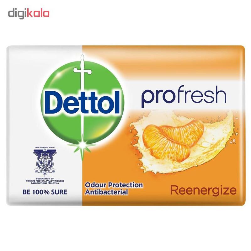 صابون ضد باکتری دتول مدل Profresh Reenergize وزن 105 گرم