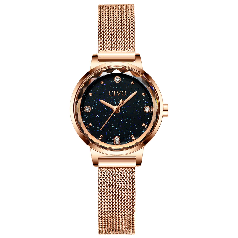 ساعت مچی عقربه ای زنانه سیوو مدل 8024B