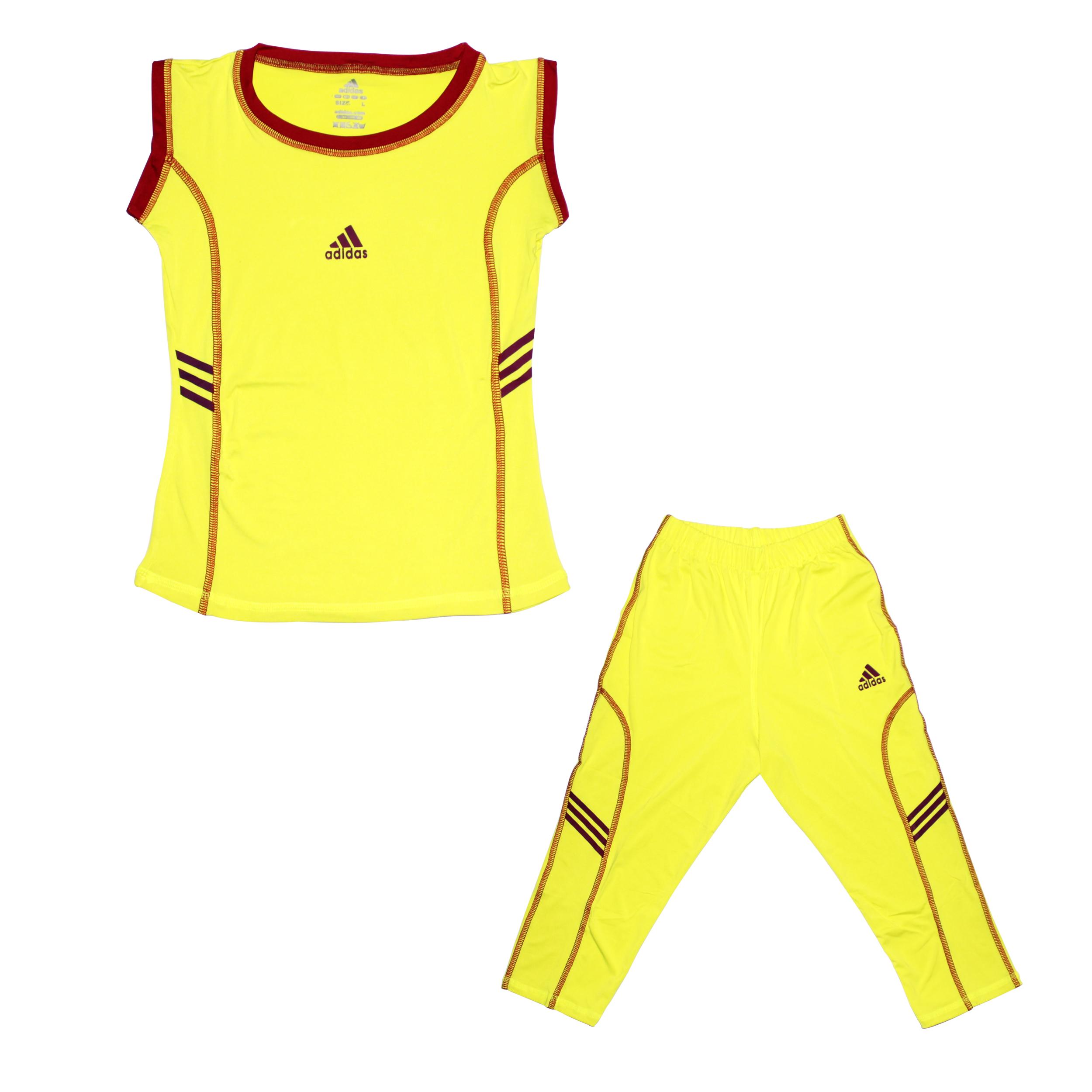 ست تاپ و شلوارک ورزشی دخترانه مدل Callum کد 001