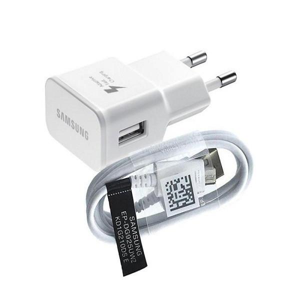 شارژر دیواری مدل EP-TA20EWE به همراه کابل تبدیل microUSB