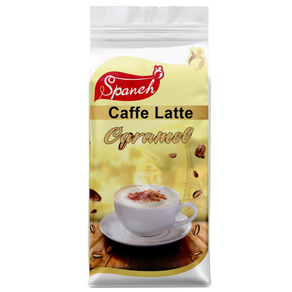 کافه لاته اسپانه مدل Caramel مقدار 250 گرم