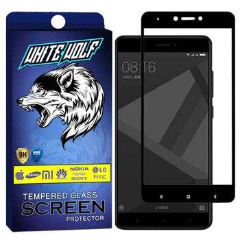 محافظ صفحه نمایش وایت ولف مدل WGF مناسب برای گوشی موبایل شیائومی Redmi Note 4x