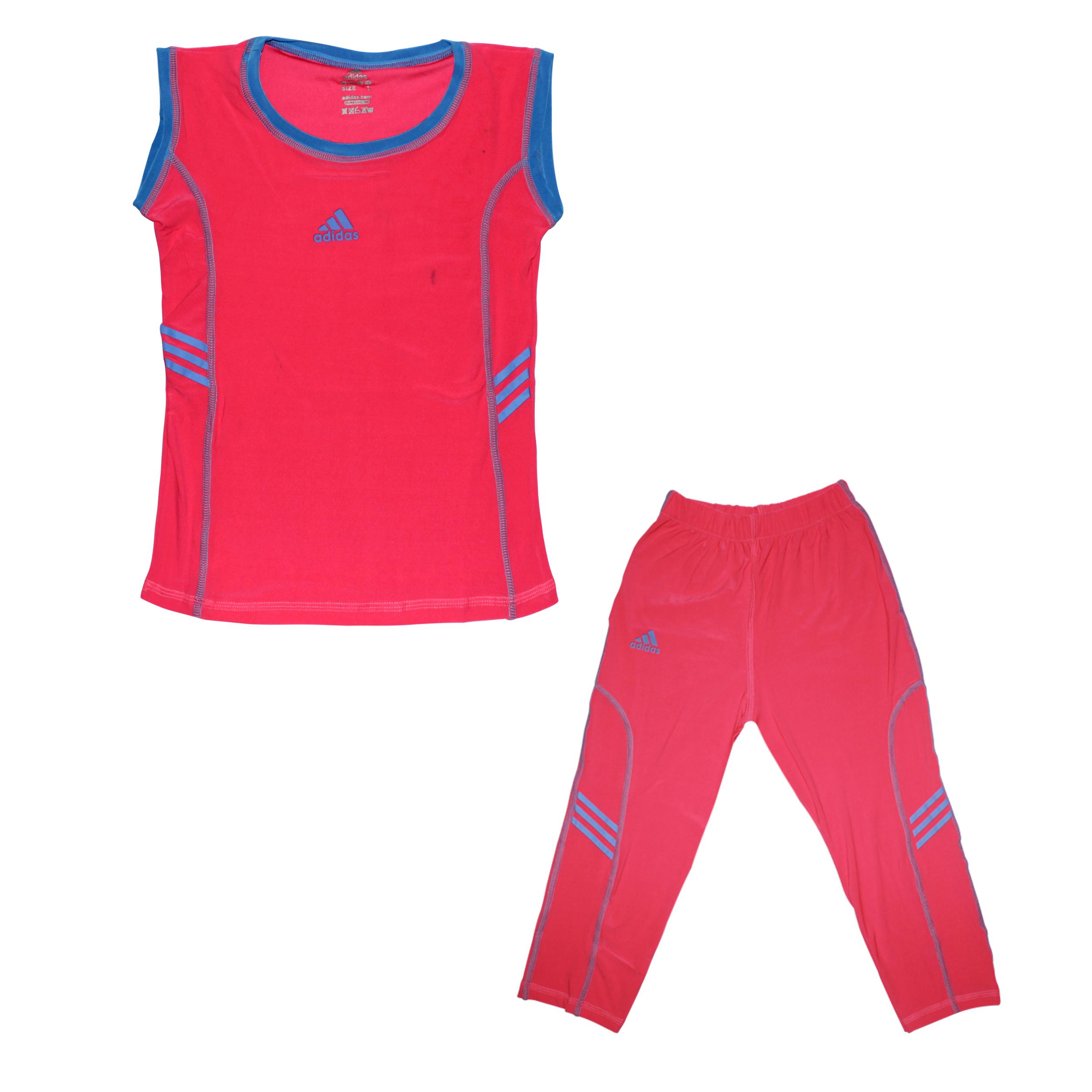 ست تاپ و شلوارک ورزشی دخترانه مدل Callum کد 002