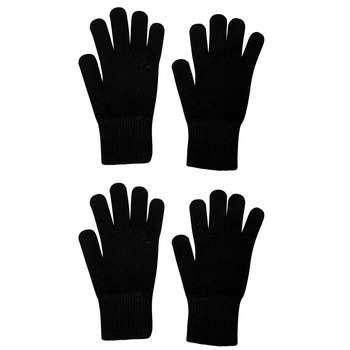 دستکش بافتنی مردانه منوچهری کد 36443 بسته 2 عددی